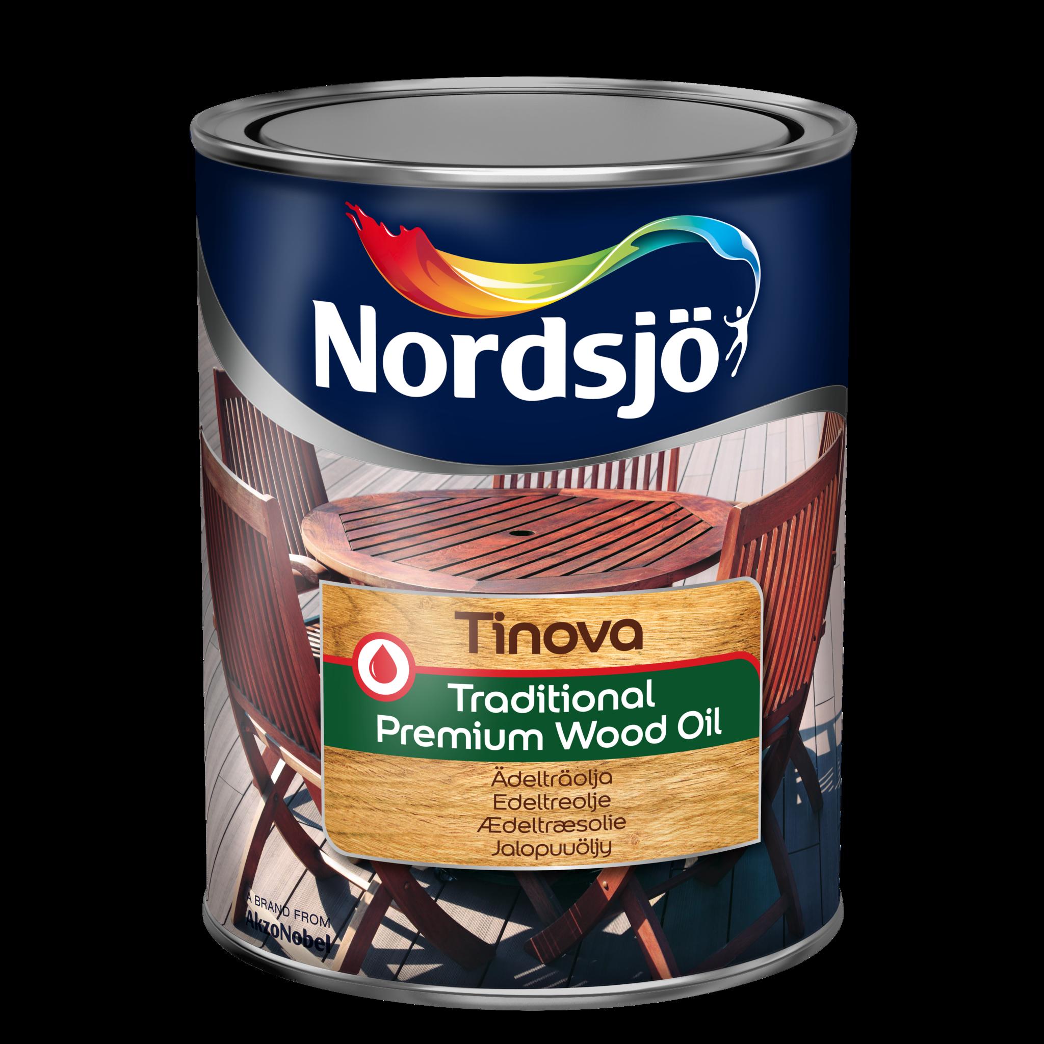 Nordsjö Tinova Traditional Premium Wood Oil