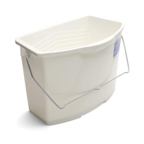 Malerbøtte 12 liter/30 cm på hvit bakgrunn